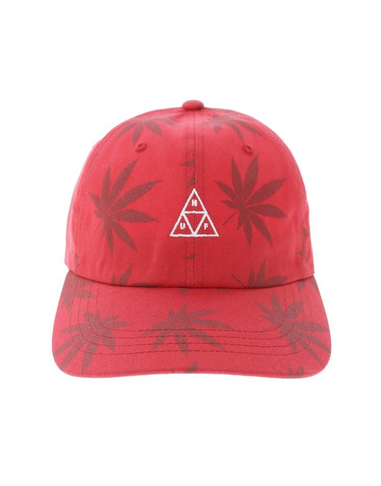 3243c3e2b Huf 420 Triple Triangle Dad Hat Strapback Red