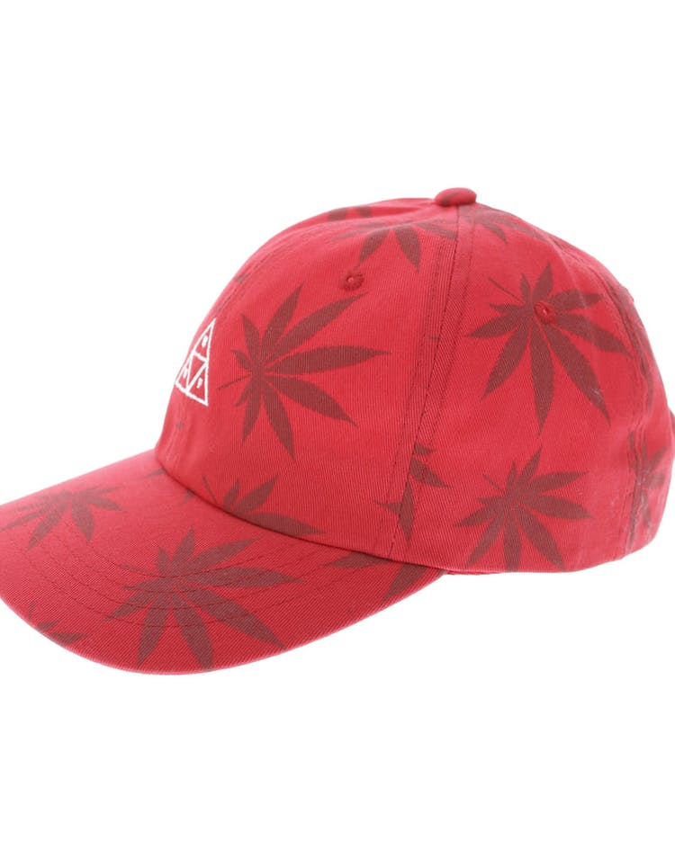 5d0e44248d51a Huf 420 Triple Triangle Dad Hat Strapback Red – Culture Kings