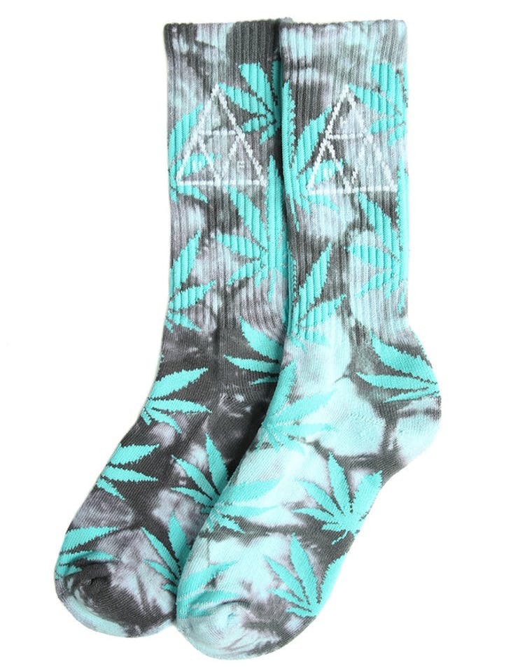 Huf 420 Triple Triangle Sock Smoke Mint