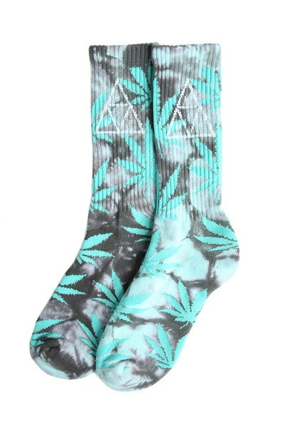 Huf 420 Triple Triangle Sock Smoke Mint