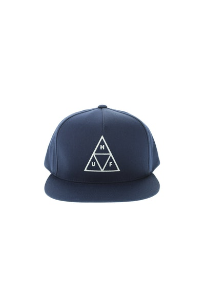 Huf Triple Triangle Snapback Navy