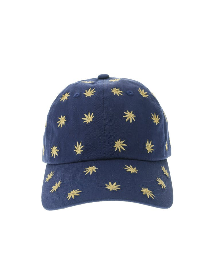 6e8acbaaab5daf Huf Plant Life Embroidered Dad Hat Blue – Anexas