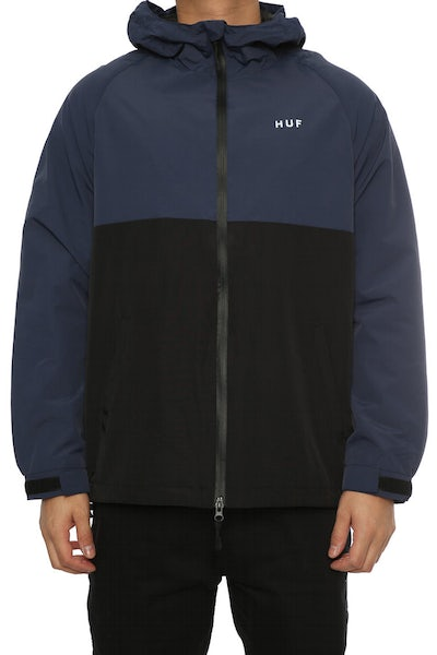 Huf Standard Shell Jacket Navy/Black