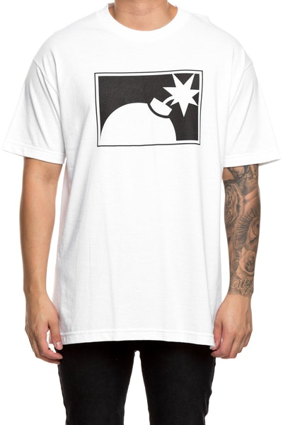 The Hundreds Forever Half Bomb Tee White