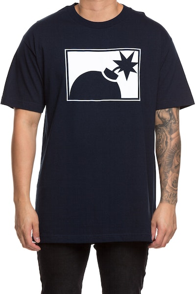 The Hundreds Forever Half Bomb Tee Navy