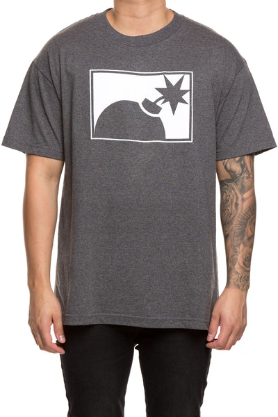 The Hundreds Forever Half Bomb Tee Charcoal