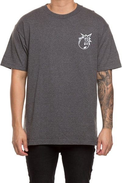 The Hundreds Forever Simple Adam Tee Charcoal