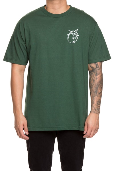 The Hundreds Forever Simple Adam Tee Green