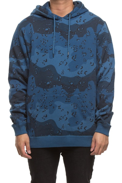 10 DEEP LAWLESS CAMO PULLOVER BLUE