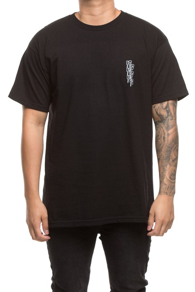 10 DEEP DOUBLE VISION TEE BLACK
