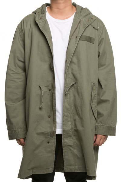 10 Deep Sun Also Sets Parka Army Green