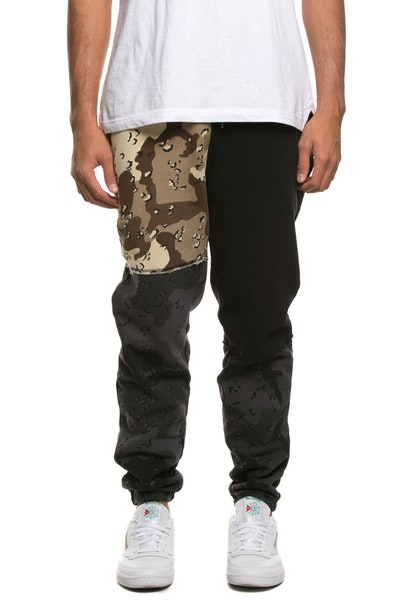 10 Deep Day And Night Pieced Sweatpant Multi-Coloured