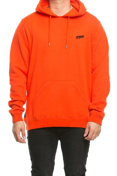 10 Deep Sound & Fury Hoodie Orange/Red