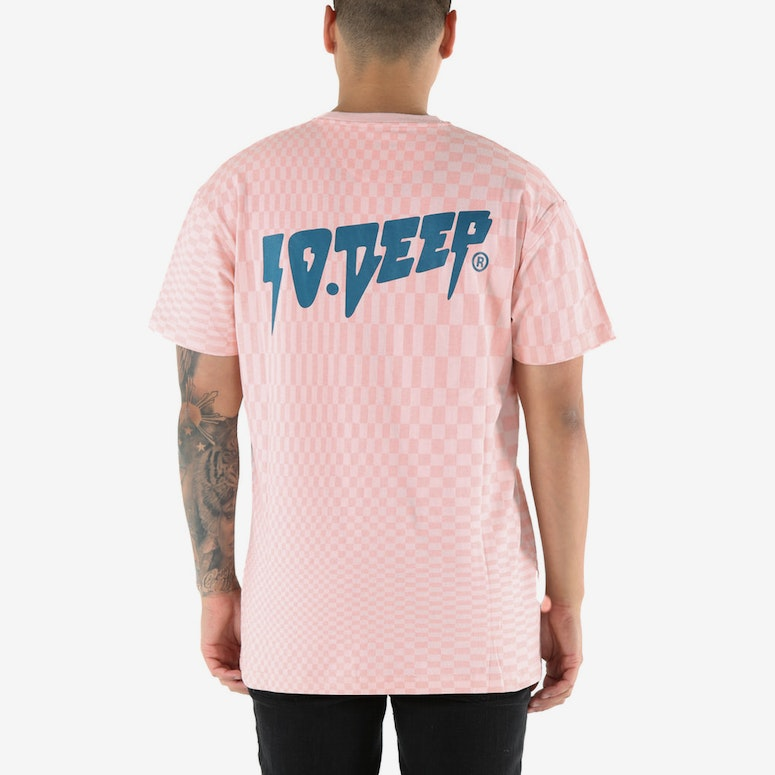 10 Deep Seeing Trails Tee Pink