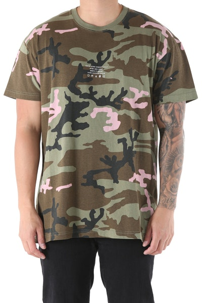10 Deep Corps Surplus Tee Camo