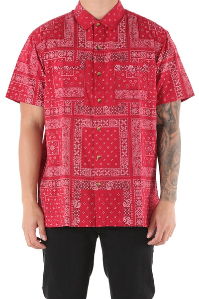 10 Deep Bandana Shirt Red