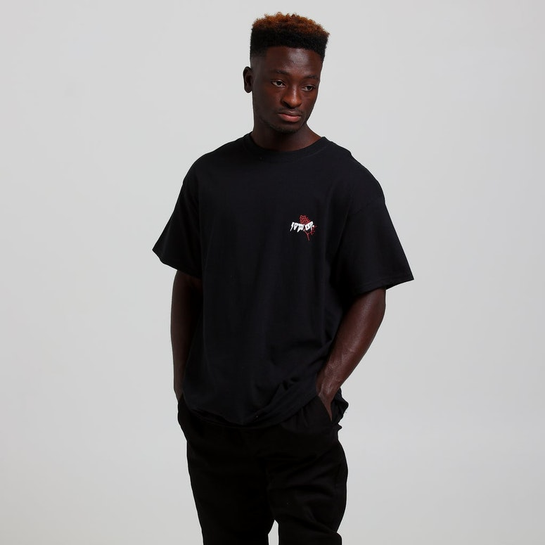 10 Deep Black Belt Tee Black