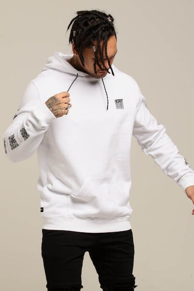 10 Deep Consumed Hoodie White