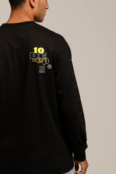 10 Deep Disassemble L/S Tee Black
