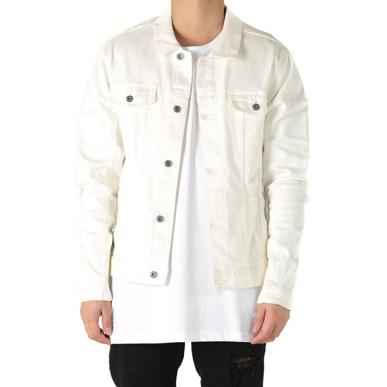 Zanerobe Greaser Denim Jacket Bone Culture Kings