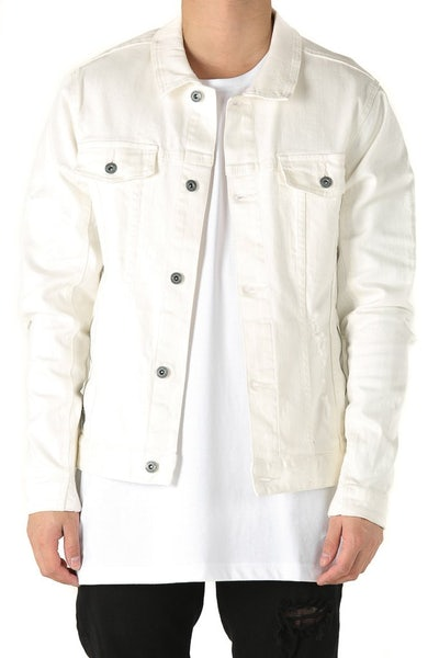 Zanerobe Greaser Denim Jacket Bone