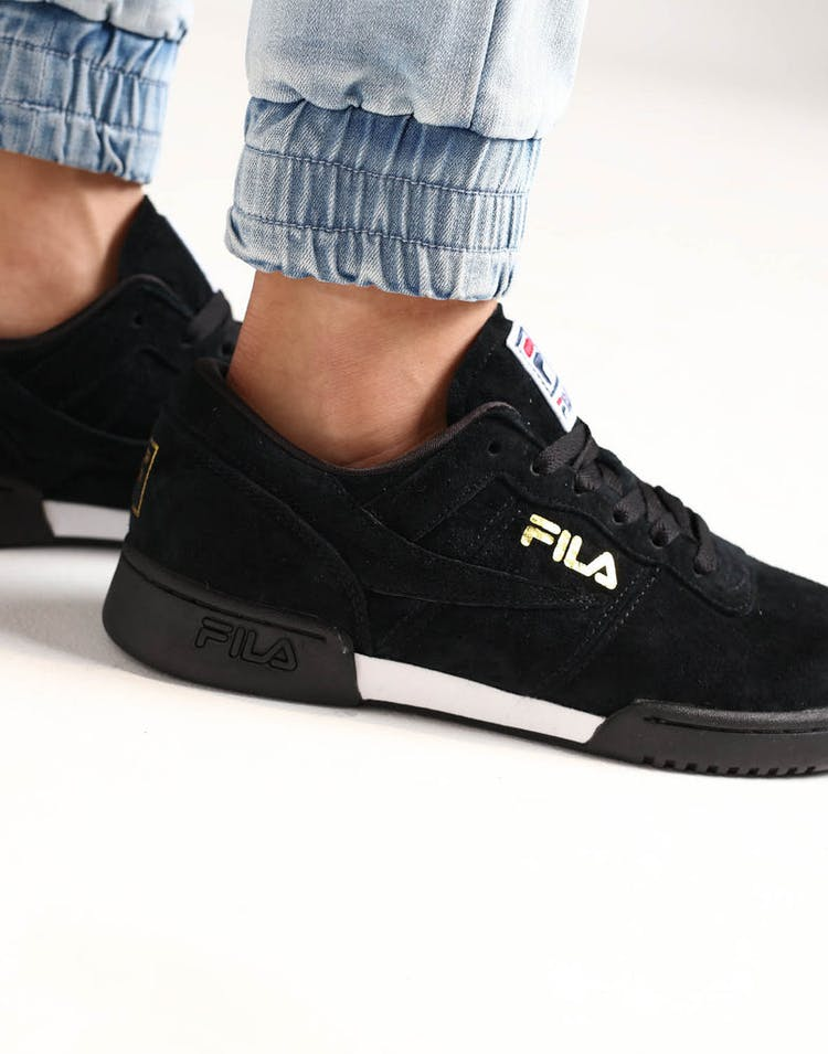 Fila Original Fitness Lineker Black/White/Gold