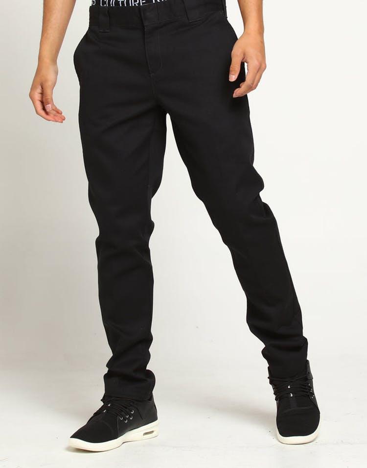 82d5beb646f1e Dickies 872 Slim Fit Work Pant Black