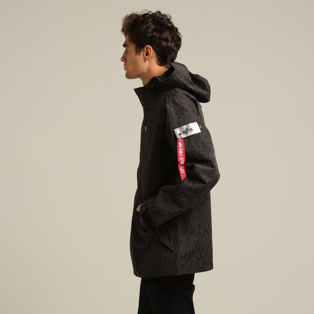 ALPHA INDUSTRIES ECWCS TORRENT RAINDROP COAT BLACK