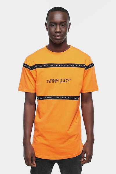 NANA JUDY MAYFAIR T-SHIRT ORANGE