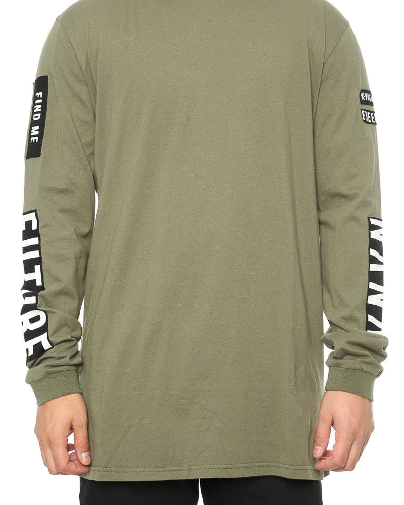 Nana Judy Houston L/S Tee Khaki
