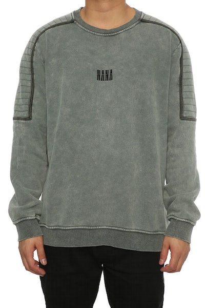 Nana Judy Flinders Fleece Crew Acid Grey
