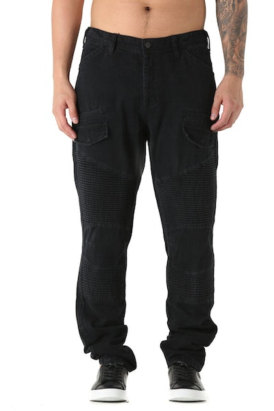 Nana Judy Military Drill Pant Black Vintage
