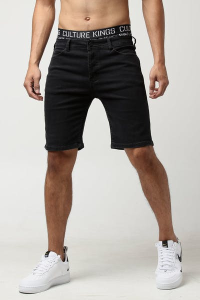 Nana Judy Chilla Vee Denim Short Black