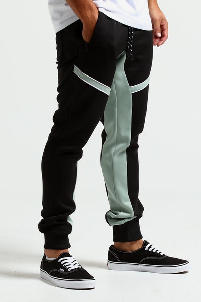 Nana Judy Change Neoprene Trackpant Black/Teal