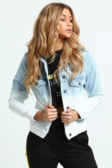 NANA JUDY WOMEN'S BROADWAY DENIM JACKET INDIGO
