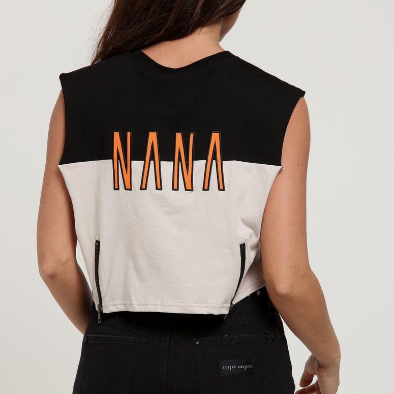 180fdd58b39 Nana Judy Women s Spur Tank Crop Latte Black Orange – Culture Kings