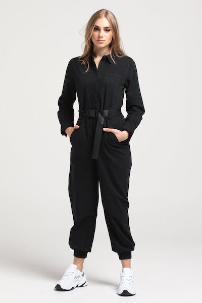 Nana Judy Women's Idol Jumpsuit Vintage Black