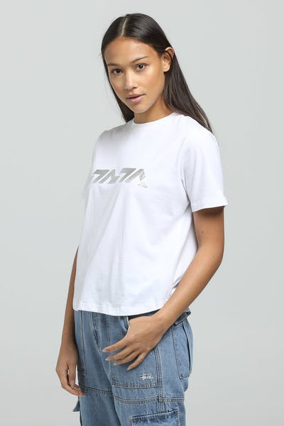 Nana Judy Women's Freedom SS Tee White