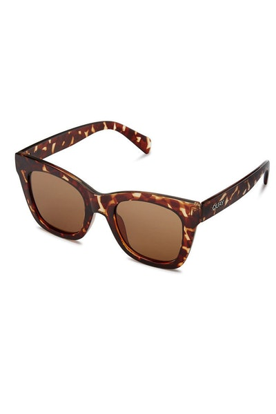 Quay Australia After Hours Tortoise/Brown