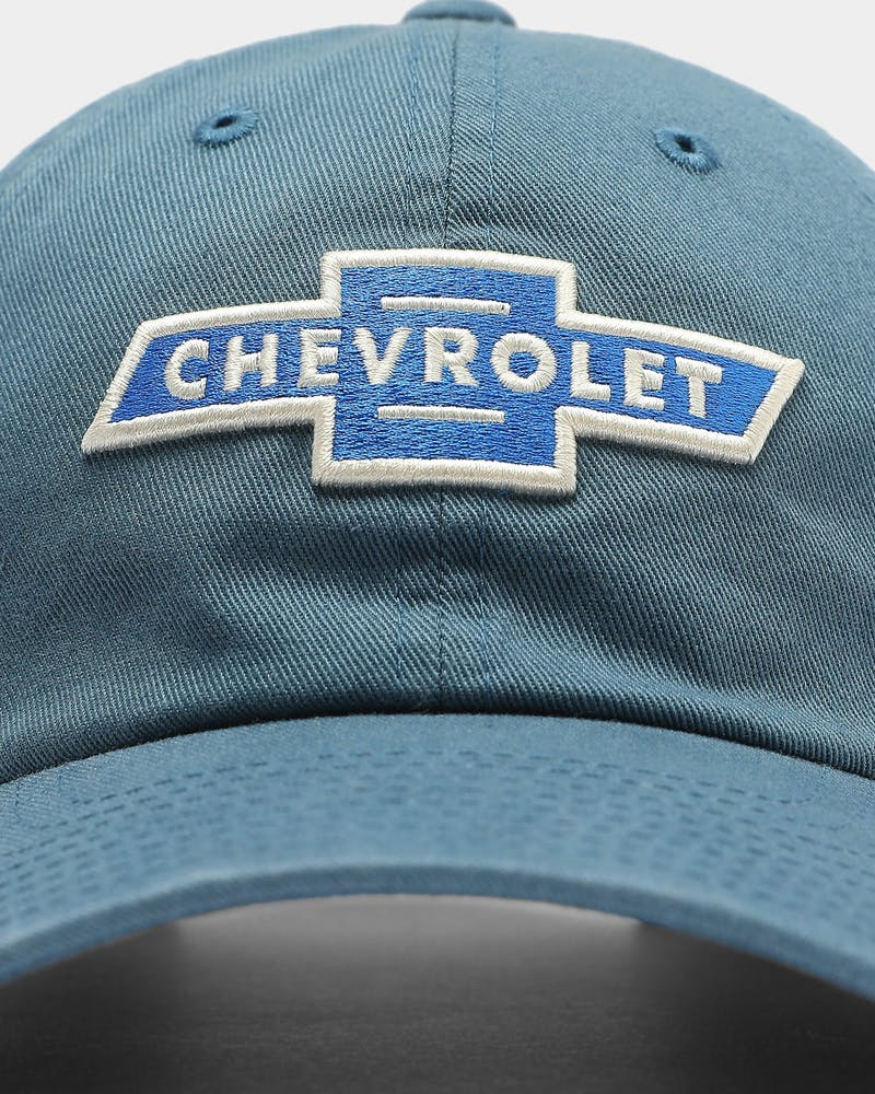 American Needle Ballpark Chevrolet Strapback Breaker Blue