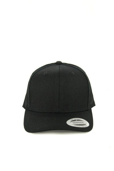 Flexfit Onfield Wool Blend Snapback Black