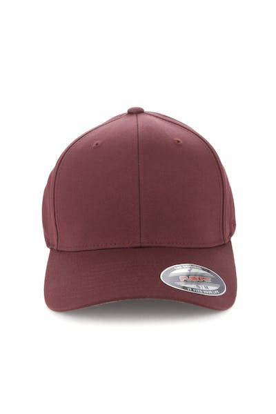 282a2a8709c2c Flexfit Worn By The World Fitted Burgundy