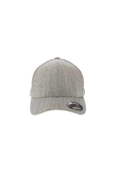 Flexfit Staple Wool Blend Fitted Hat Heather Grey