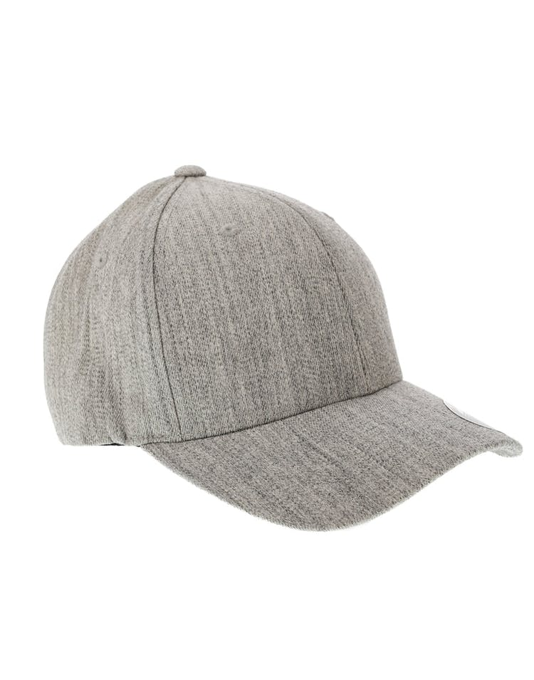 462771084350 Flexfit Staple Wool Blend Fitted Hat Heather Grey – Culture Kings
