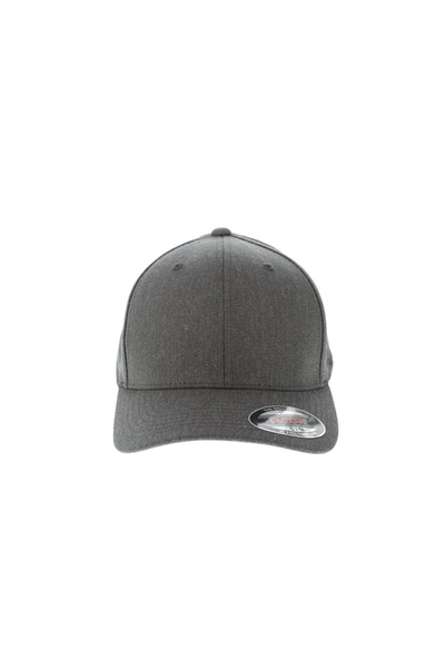 Flexfit Staple Wool Blend Fitted Hat Heather Charcoal