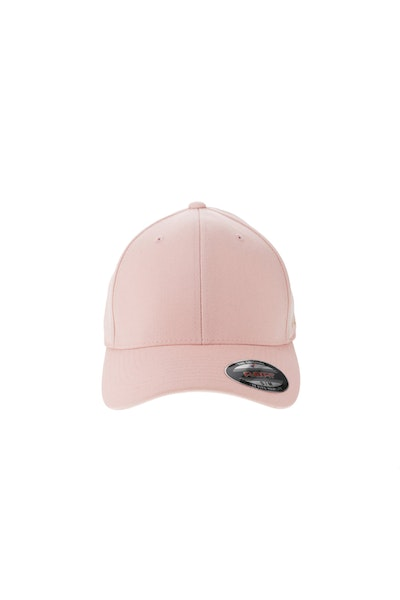 Flexfit Staple Wool Blend Fitted Hat Pink