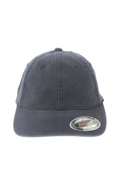 811aa3e775927 Flexfit Garment Washed Lo Pro Fitted Hat Navy