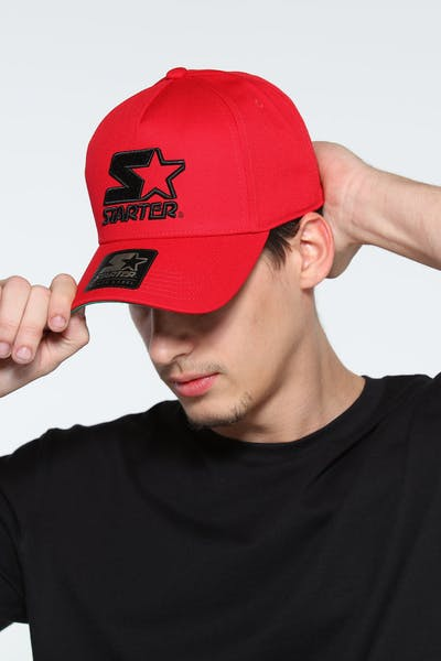 Starter X Culture Kings Throwback Snapback Red/Black