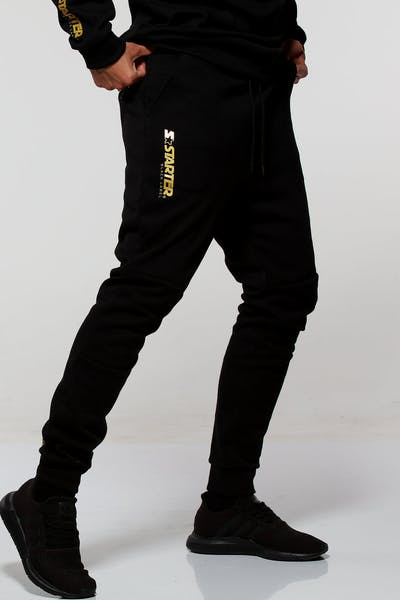 Starter X Culture Kings Megabyte Trackpant Black/Gold