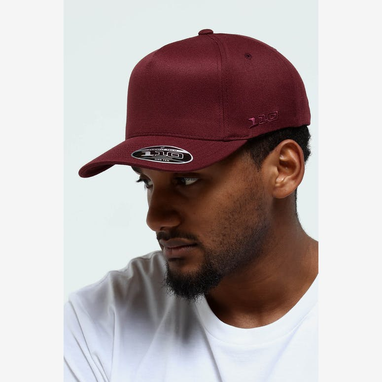 Flexfit 110 Mirage Cap Maroon – Culture Kings dbbc35ea297